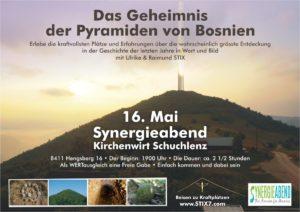Das Geheimnis der Pyramiden von Bosnien |Synergieabend @ Kirchenwirt Schuchlenz, Hengsberg | Hengsberg | Steiermark | Österreich