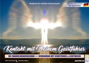 Kontakt mit Deinem Geistführer :::: Die Channelingausbildung, Verbindung mit Schutzengel und Lichtwesen @ Praxis für Ergotherapie, Gudrun Lenniger |Geseke | Geseke | Nordrhein-Westfalen | Deutschland